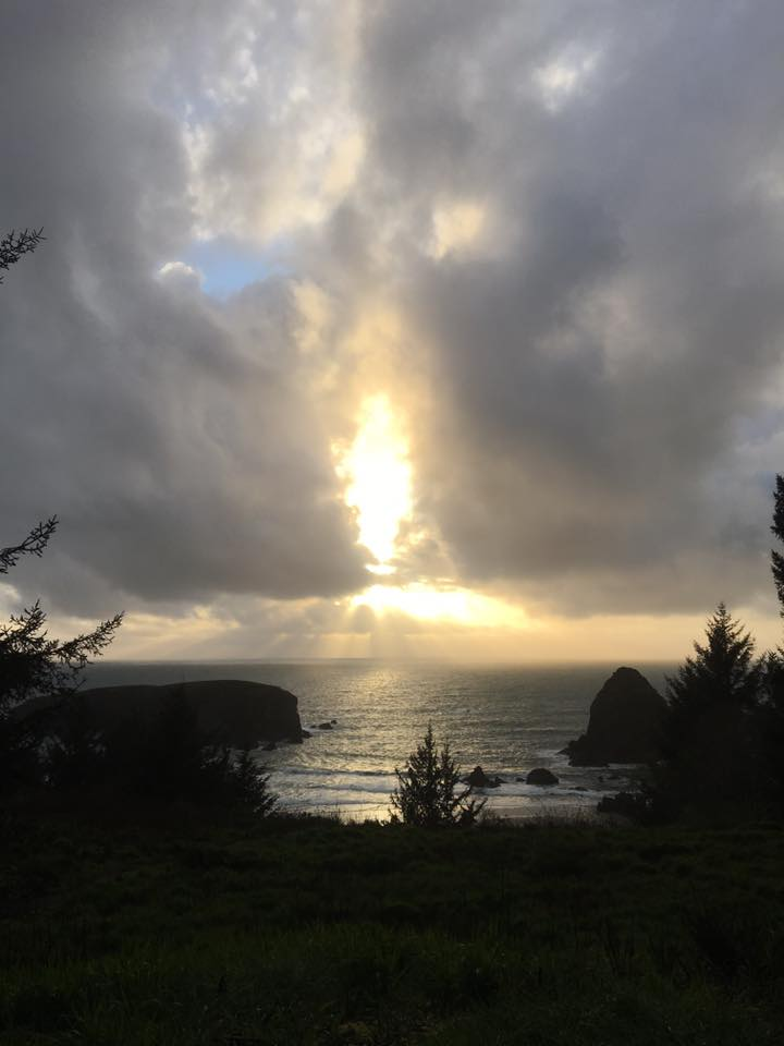 Sunset at Whaleshead Viewpoint