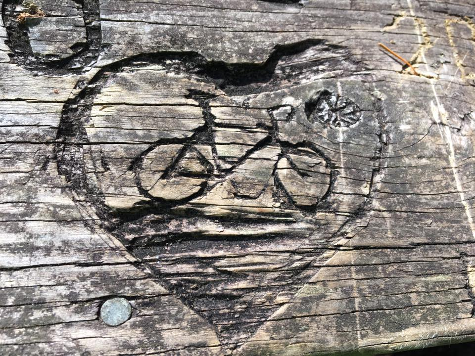 Bike carving