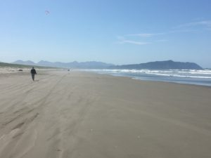 Gearhart beach and Tillamook Head